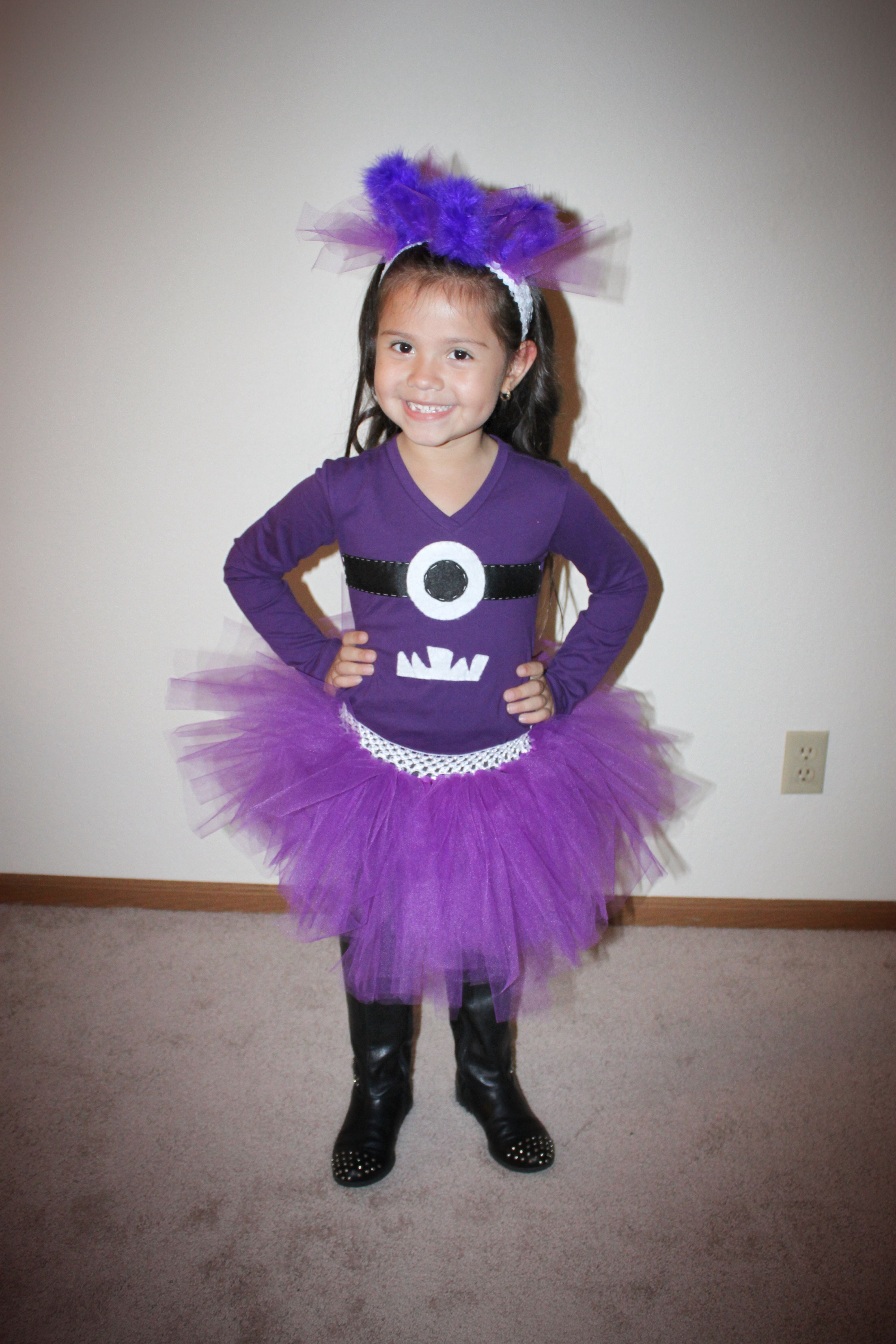 Purple Minion from Despicable Me movie for Halloween 2013 ...