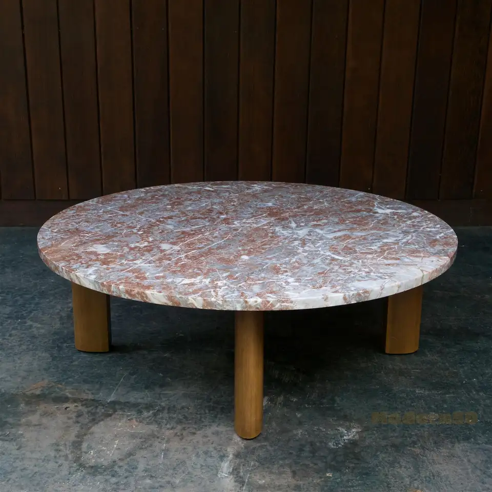 1950s Widdicomb Fin Leg Red Marble Coffee Table Ski Chalet Cabinmodern Rustic Marble Coffee Table Coffee Table Wood Cocktail Table [ 960 x 960 Pixel ]