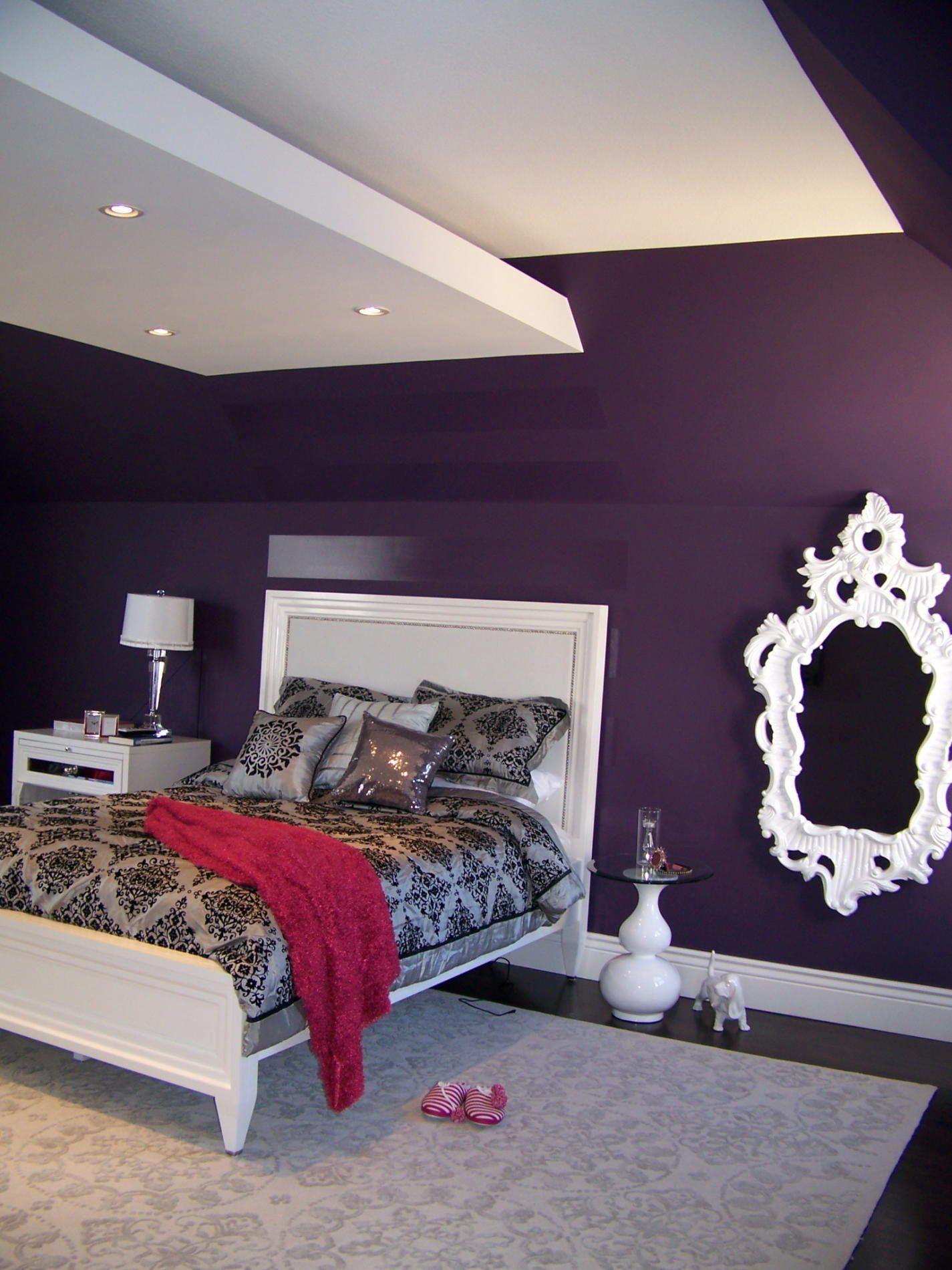 25 Of The Most Beautiful Purple Bedroom Design Ideas Decor Color Scheme Purplebedroom