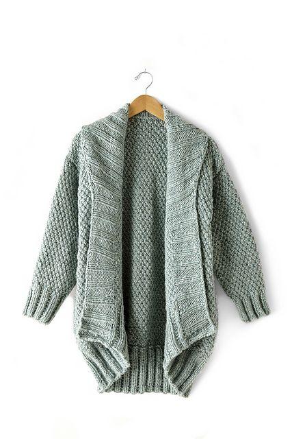 Ravelry: Cocoon Cardigan pattern by Bernat Design Studio | Knit Love ...