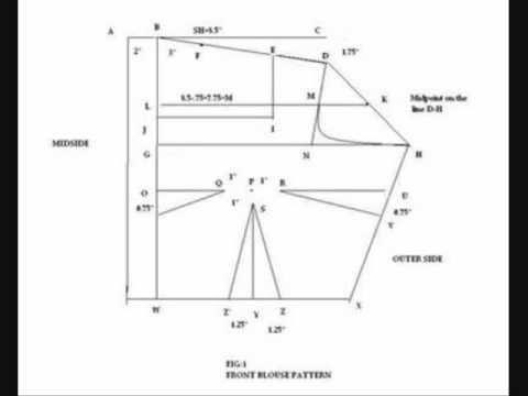 How To Make A Saree Blouse Saree Blouse