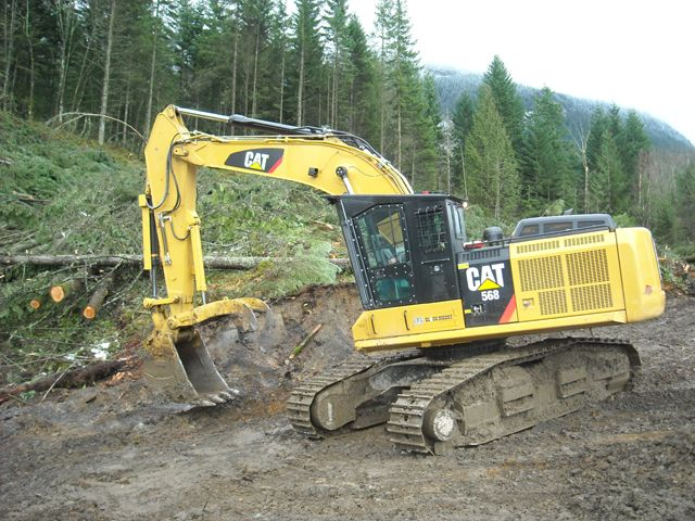 caterpillar 568 road builder loaders limbers and roadbuilders