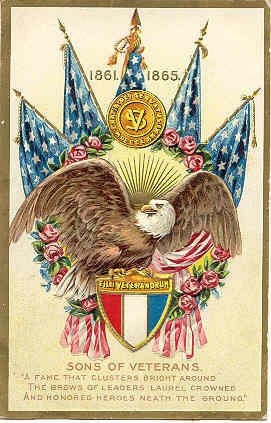 """ Memorial Day 1911 "" Vintage Post Card. An embossed surface, DB-USD-PM 1911, and in Excellent condition. Karodens Vintage Post Cards."