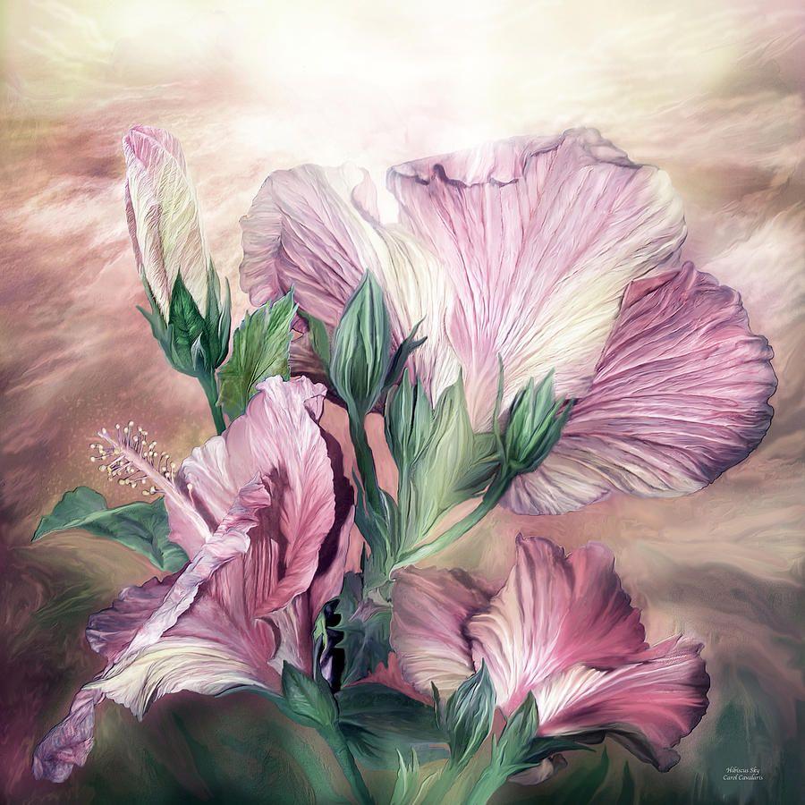 Цифровая живопись Кэрол Каваларис. Цветы.. Обсуждение на ...