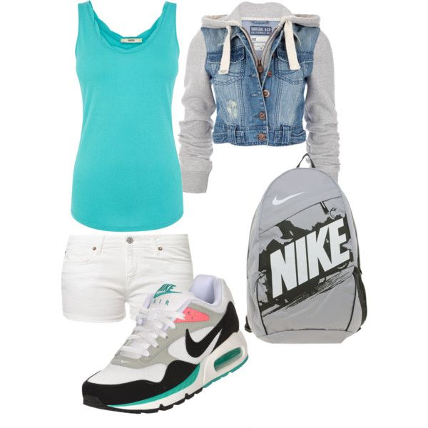 """Sporty Casual"" by naterie on Polyvore"