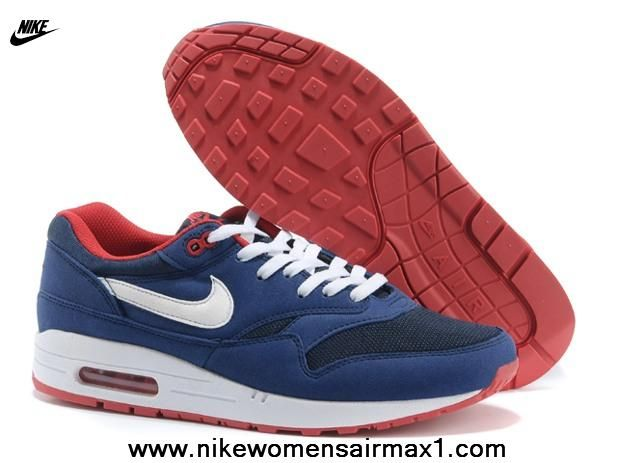 2013 New 2014 Blue Red Nike Air Max 87 1 Mens Shoes New 2014 2013 Free Shoes 5ae1e8062