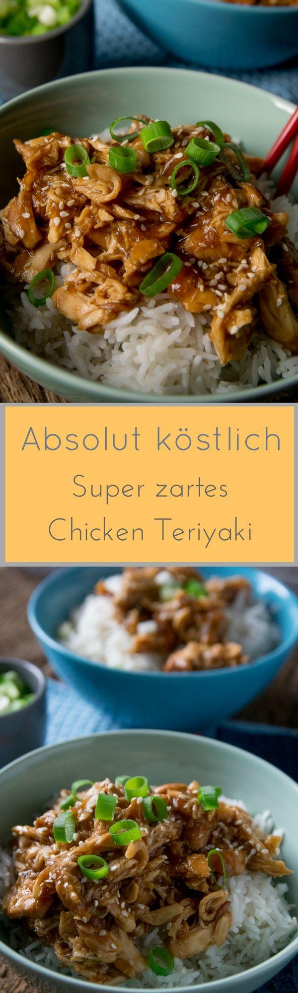 Dieses Chicken Teriyaki schmeckt absolut köstlich und ist ...