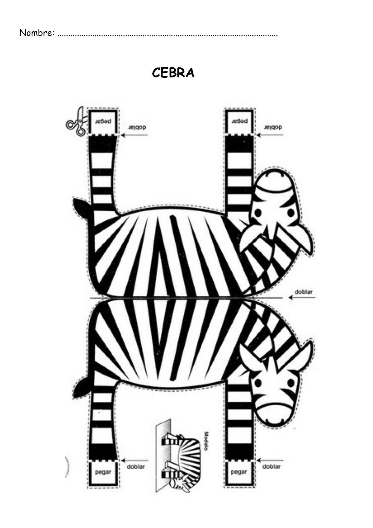 bricolage de zèbre - Recherche Google | 3D | Pinterest | Craft ...