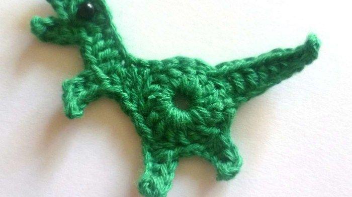 30+ Amazing Image of Dinosaur Crochet Pattern #crochetdinosaurpatterns