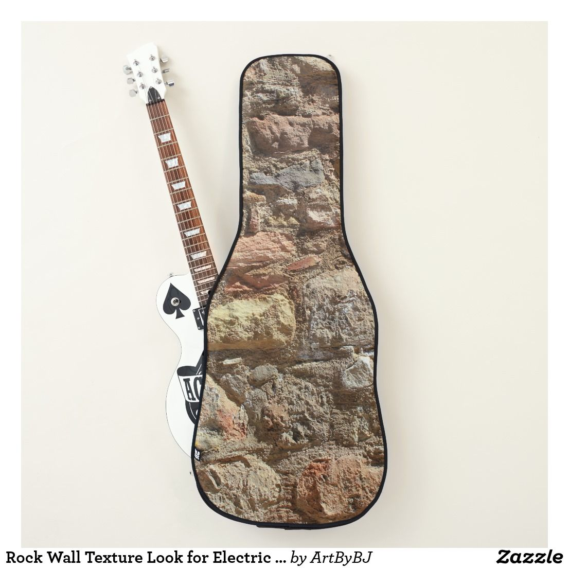 Rock Wall Texture Look For Electric Or Acoustic Guitar Case