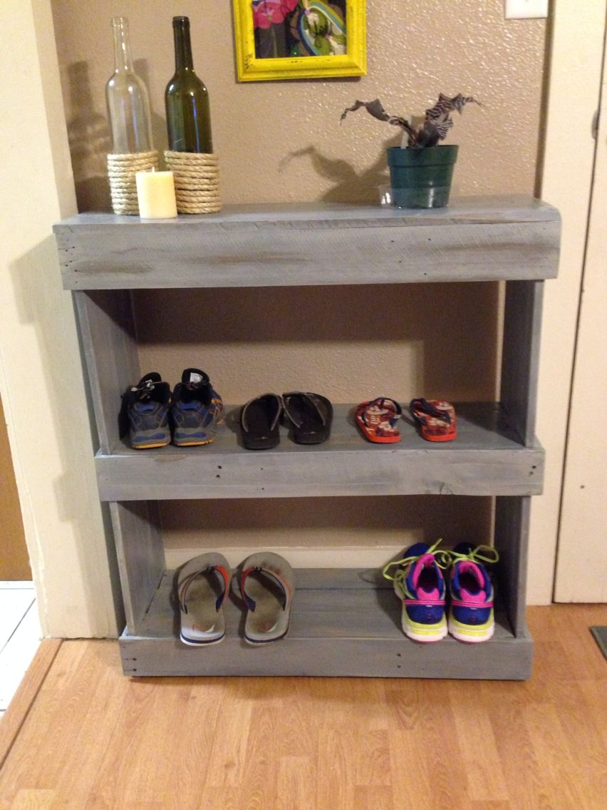 Entry Way Shoe Shelf Pallet Shoe Rack Diy Shoe Rack Wood Shoe Rack
