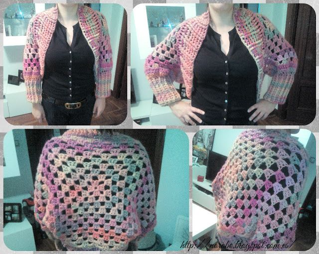 Norobe: chaqueta de crochet