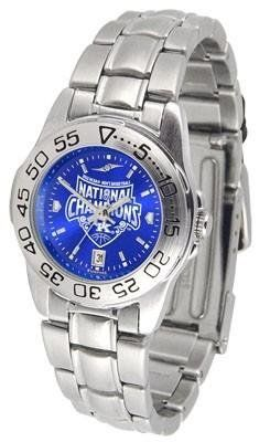 Kentucky Wildcats 2012 NCAA National Basketball Champions Women's Sport AnoChrome Metal Watch by SunTime. $63.95. Links Make Watch Adjustable. Women. Officially Licensed Kentucky Wildcats Ladies Stainless Steel Dress Watch. AnoChrome Dial Enhances Team Logo And Overall Look. Stainless Steel-Scratch Resistant Crystal. Kentucky Wildcats ladies stainless steel dress watch. This Wildcats women's watch comes with a stainless steel link bracelet, date calendar, plus a...