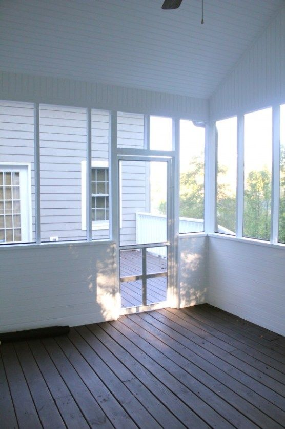 Screened In Porch Done Screened Porch Designs House With