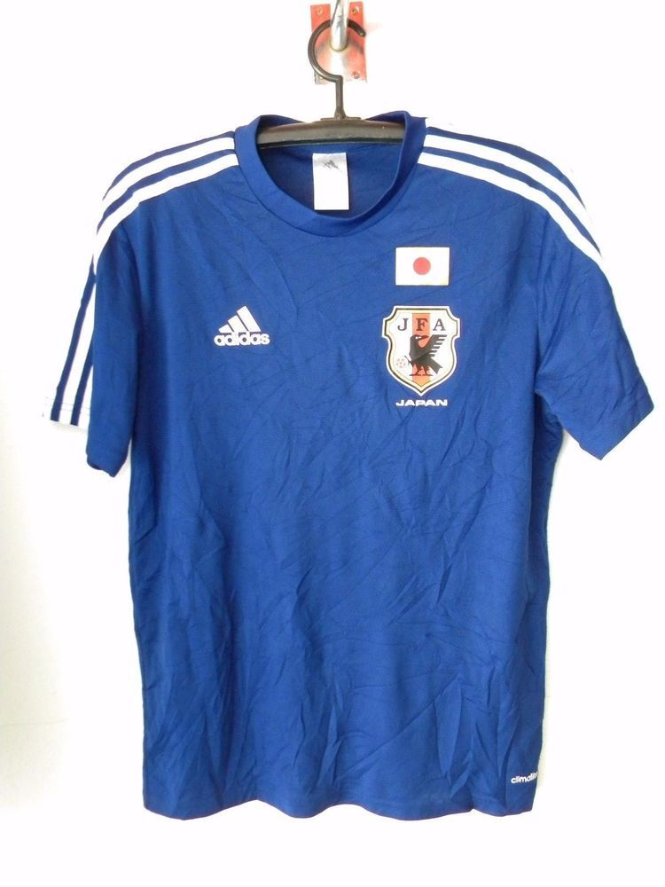 c934109d3cf Adidas Samurai JAPAN National Team Football Jersey Home T-shirt 2014  ClimaLite  adidas  Japan