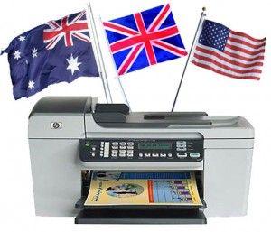 HP Printer Regions