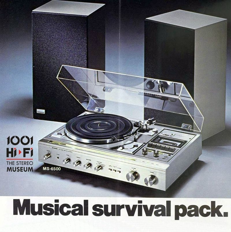 I Will Survive Pioneer Ms 6500 1977 Hifi Hifi Stereo Vintage Electronics