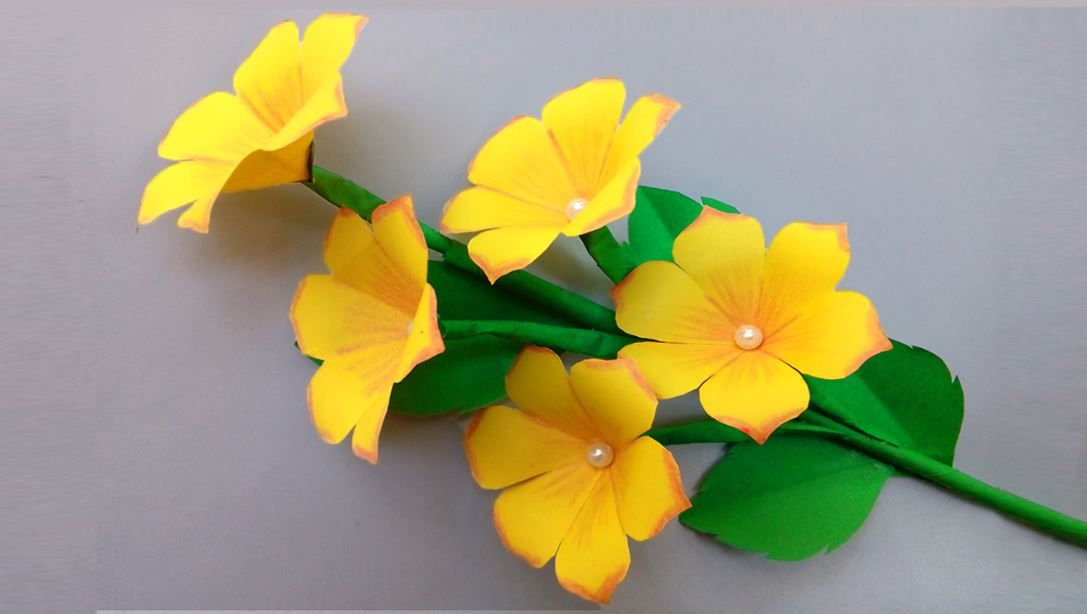 This Profile You Can Get Special How To Make Flower How To Make