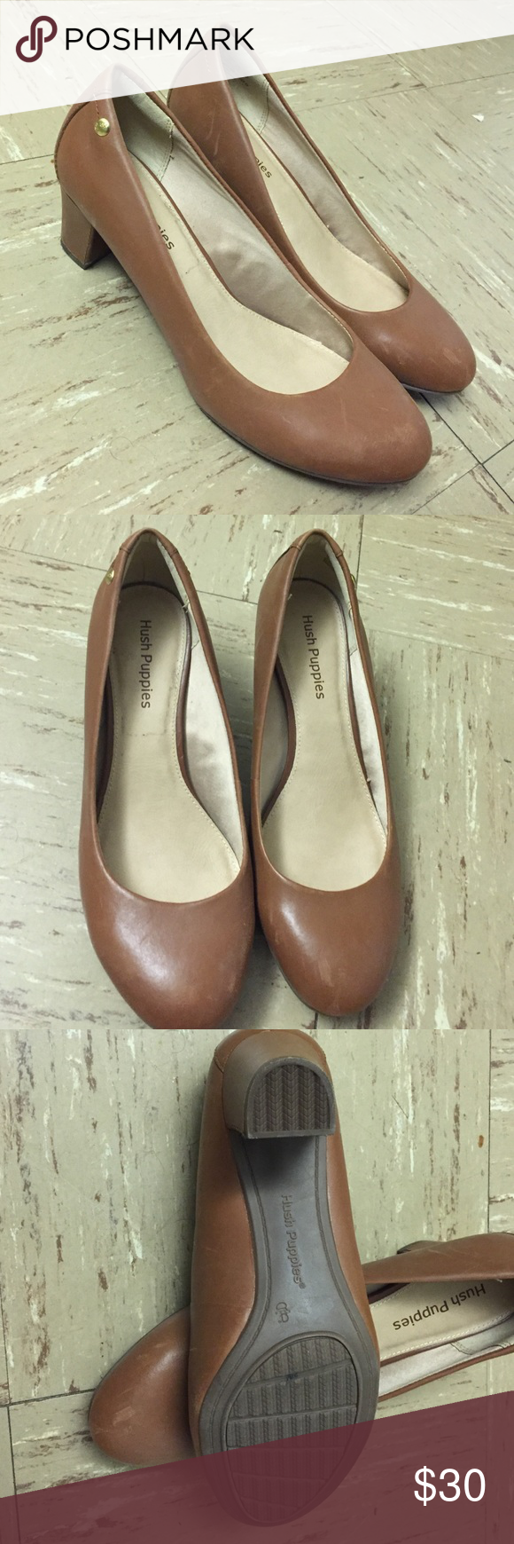 Hush puppies women shoes Only used a few times. Very nice