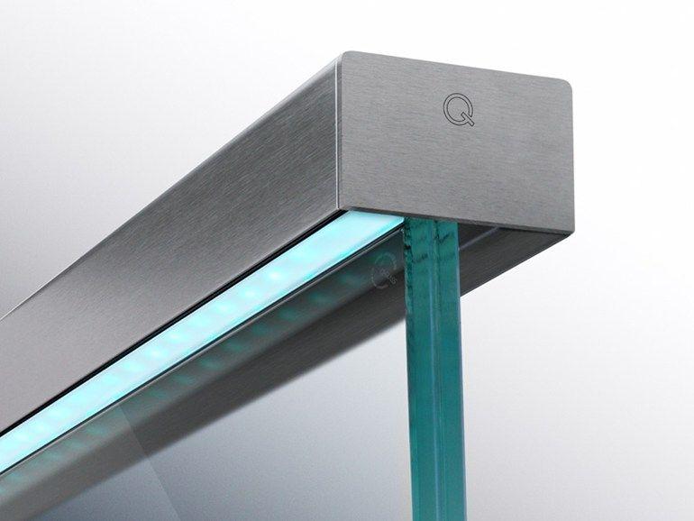 Best Linear Light Led Handrail By Q Railing Italia Design Q 640 x 480