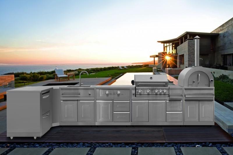 Thor Outdoor Kitchen Suite Modular Outdoor Kitchens Outdoor Kitchen Outdoor Appliances