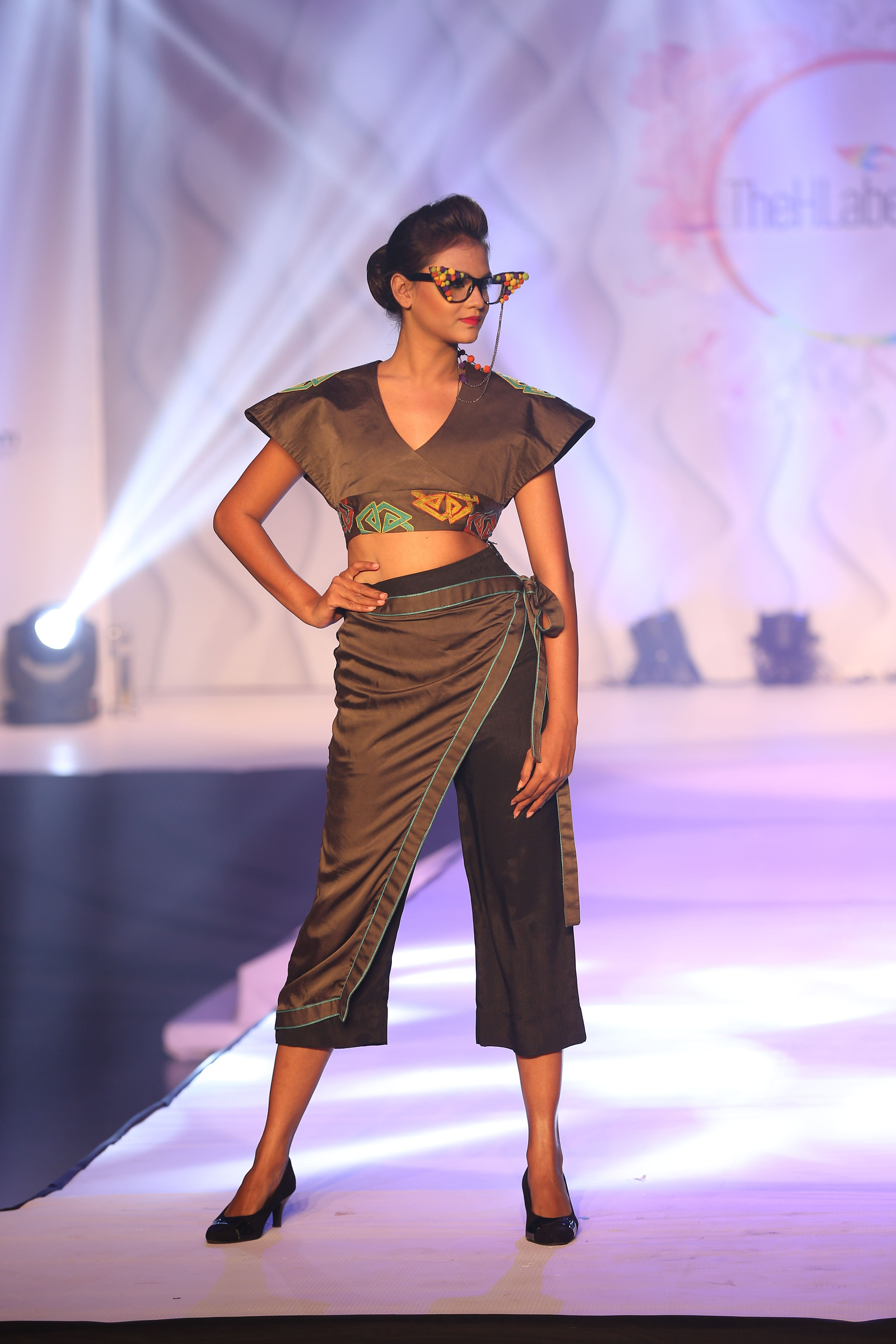 Stunning collection showcased by Hamstech students at Thehlabel ...