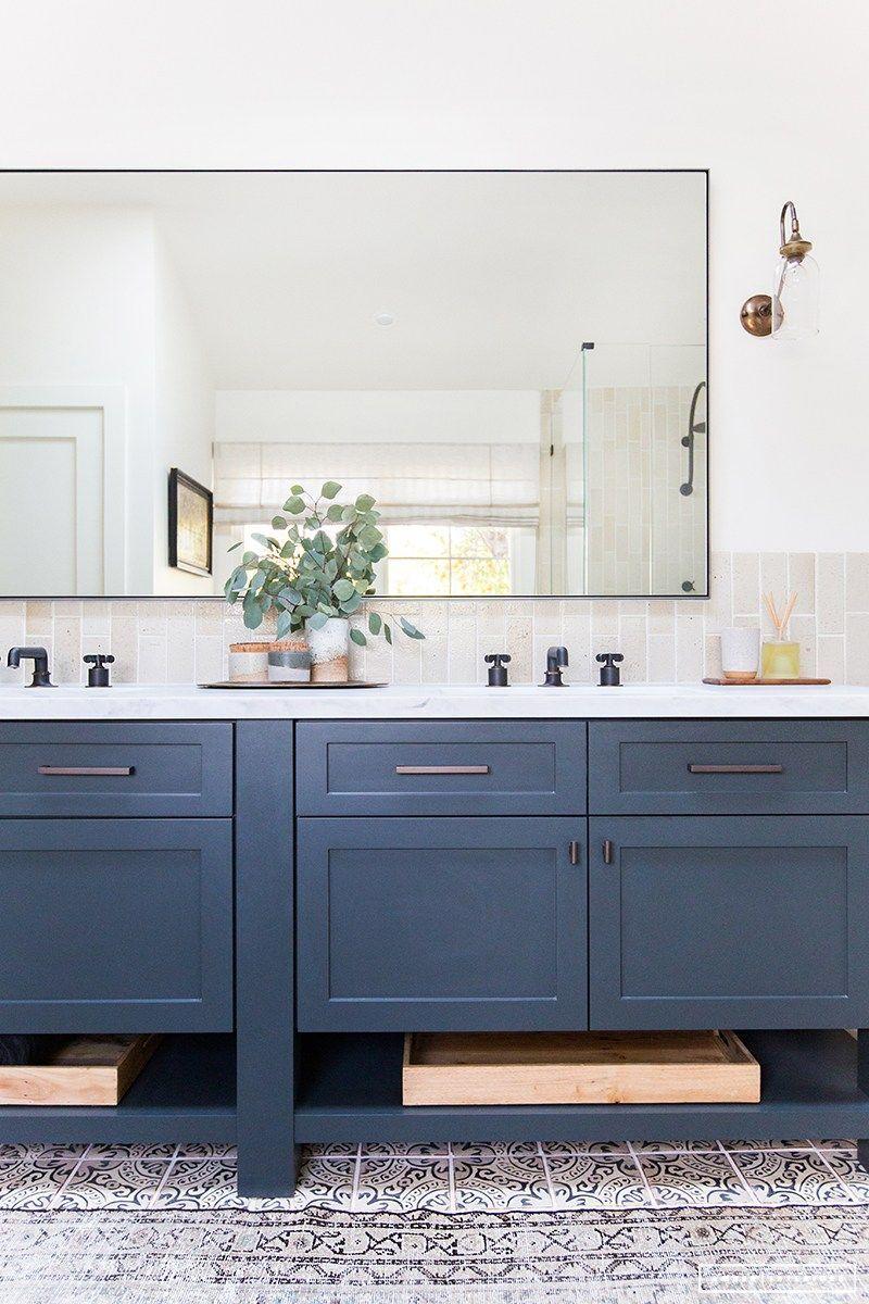 Mirror cut to size bathroom in bathroom amber interiors