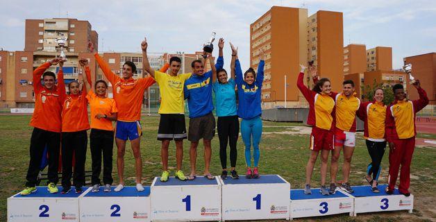 Canarias ha sido la gran dominadora del Campeonato de España de Federaciones de pruebas combinadas disputado este fin de semana en Cartagena. Más información: http://www.rfea.es/web/noticias/desarrollo.asp?codigo=8048#.VUaMWY7tmko