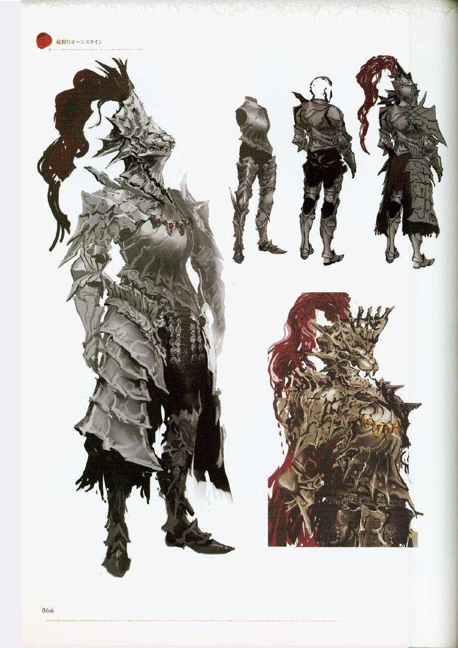 Dark Souls Character Design Process : Dark souls design works artbook
