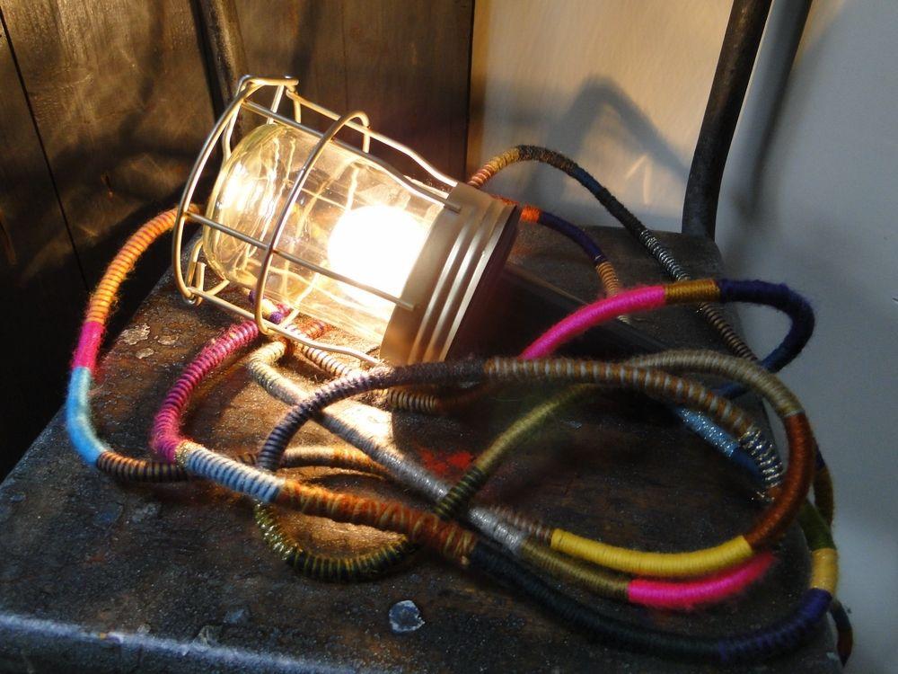 Lampe baladeuse cage by LES PETITS BOHEMES