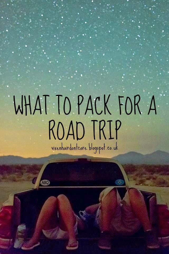 Project Sassy Pants: What to pack for a road trip