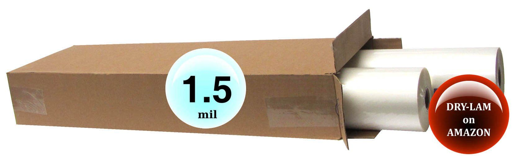 Qty 4 Rolls Drylam Standard Laminating Film 27 X 500 1 5 Mil 1 Core Read More Details By Cli Wholesale Craft Supplies Craft Supplies Storing Craft Supplies