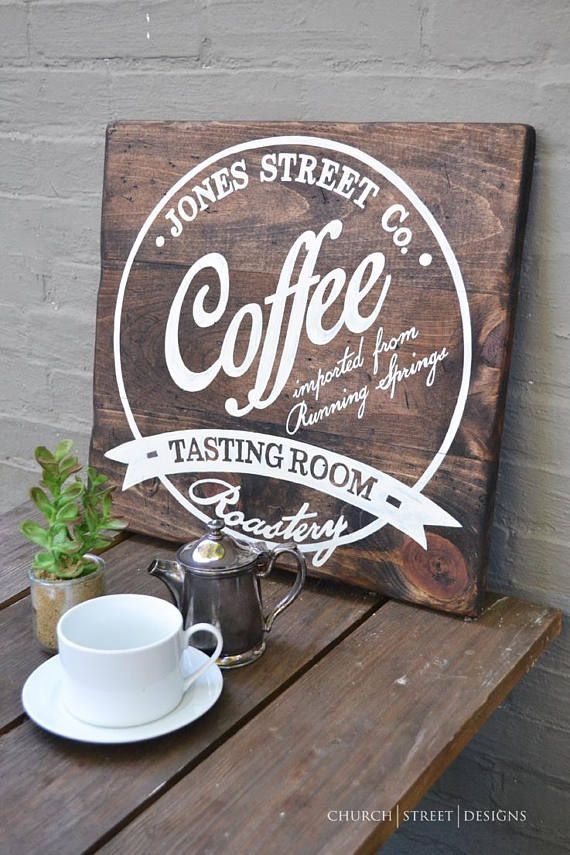 Coffee decor coffee wall art customize this sign with your family coffee decor coffee wall art customize this sign with your family name solutioingenieria Images