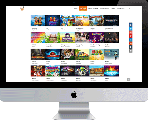Slotsipedia.com is a free slots gaming site where you can play free games without paying any money