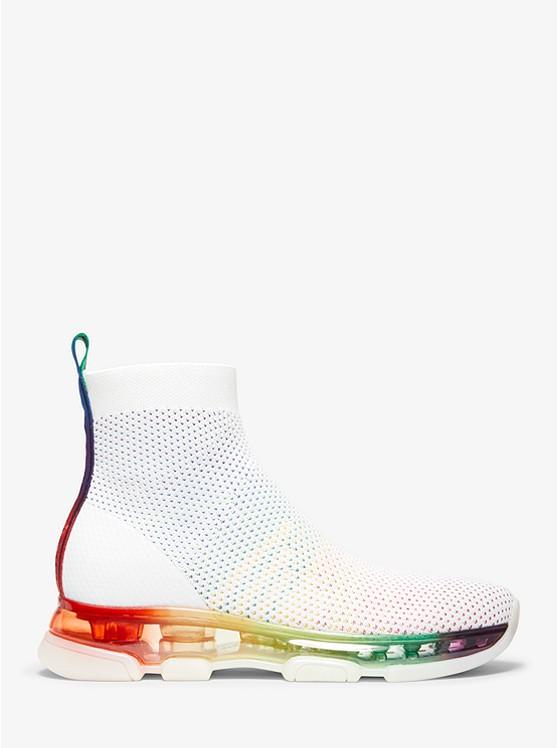 Kendra Stretch-Knit Mesh Sock Sneaker