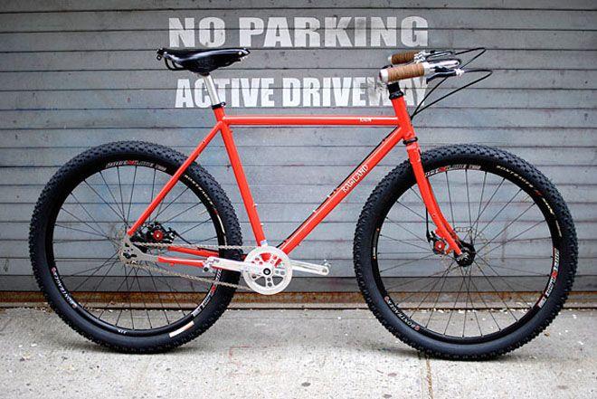 Rawland Cycles Nordavinden Prototype Vintage Mountain Bike Bike Seat Bike