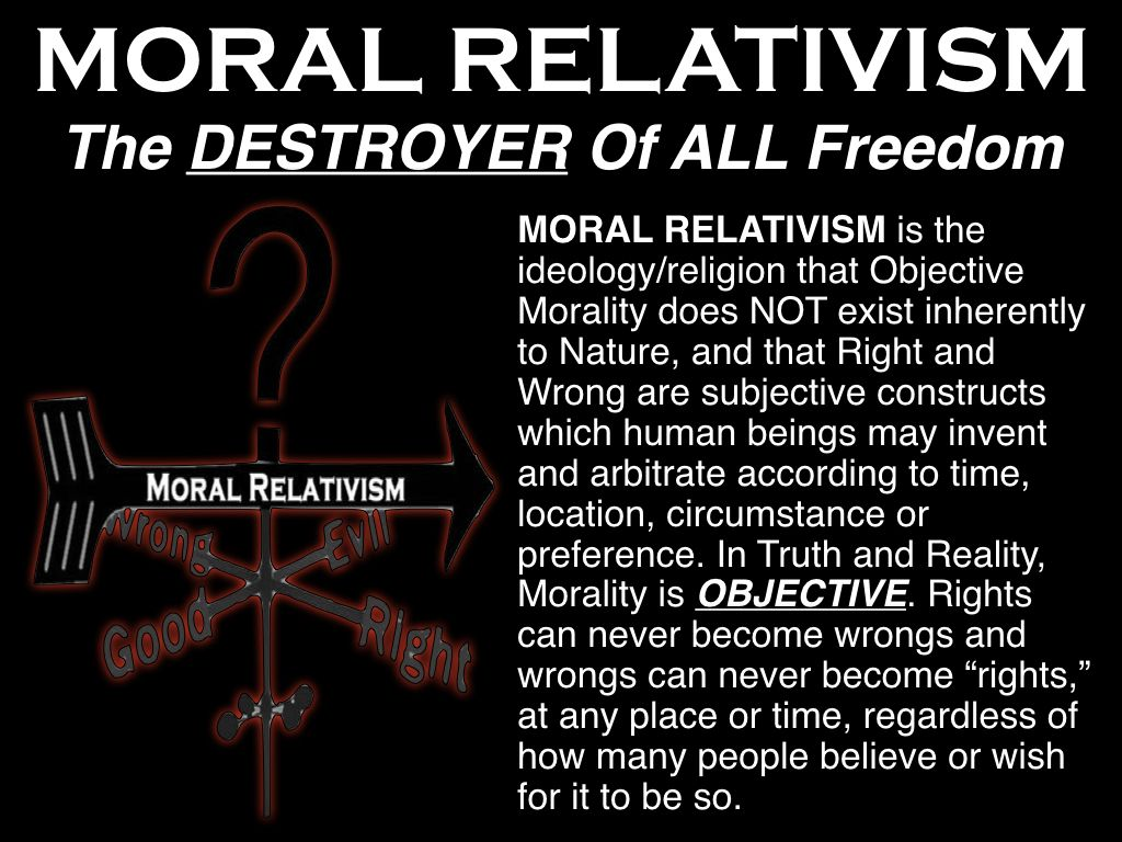 Moral Relativism A Satanic Tenant Moral Compass Ideology Principles