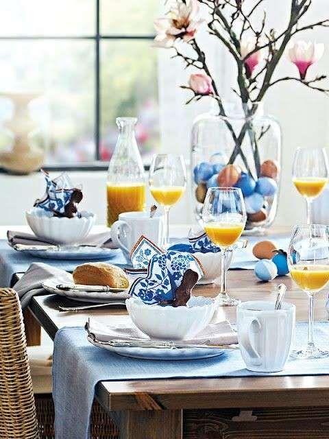 Apparecchiare la tavola per colazione | Decorazioni tavola ...