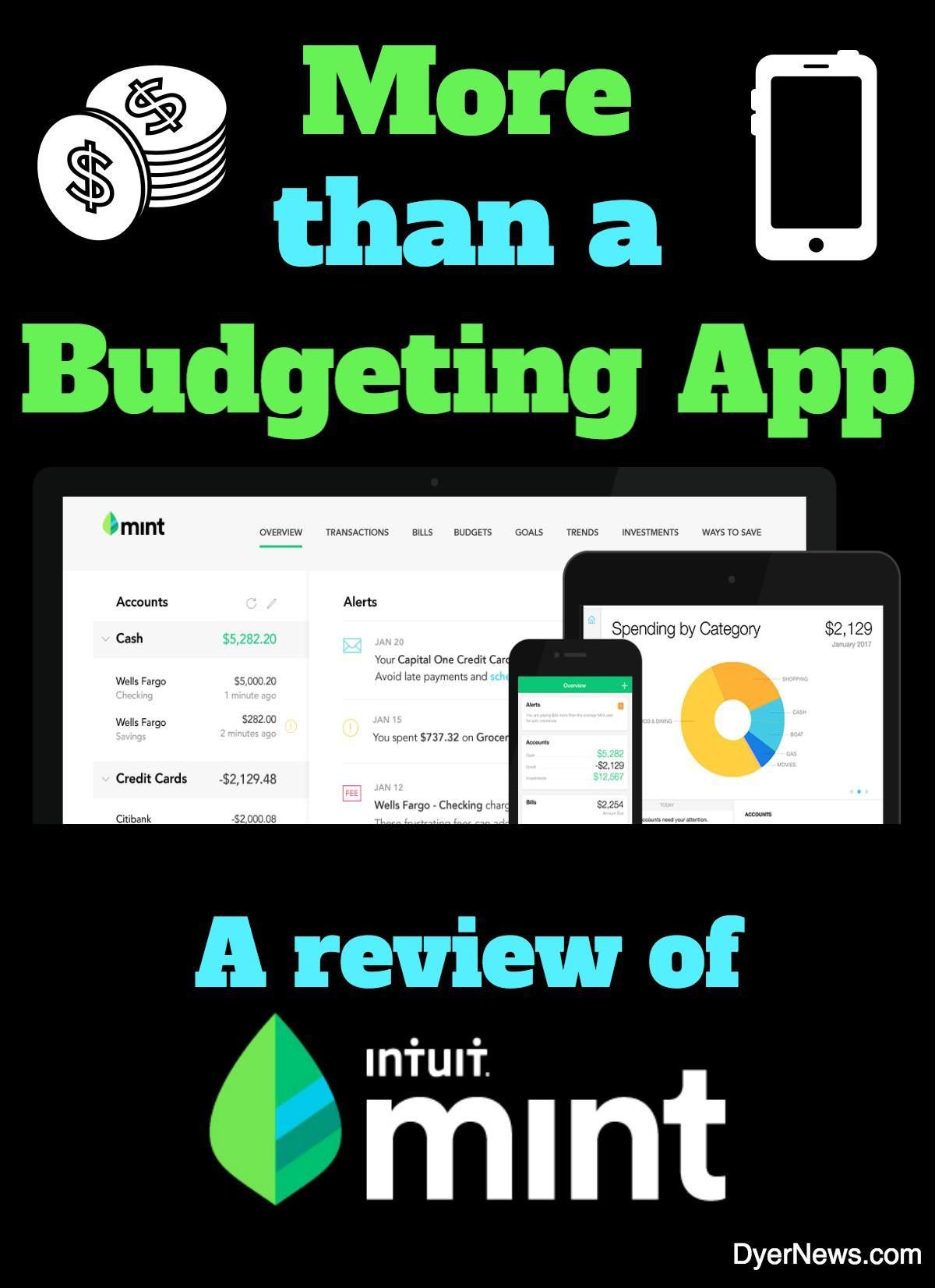 Mint Money Management App Review