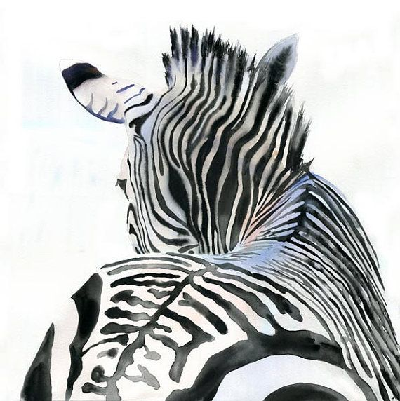 zebras art painting canvas  hand painted framed animal africa quality