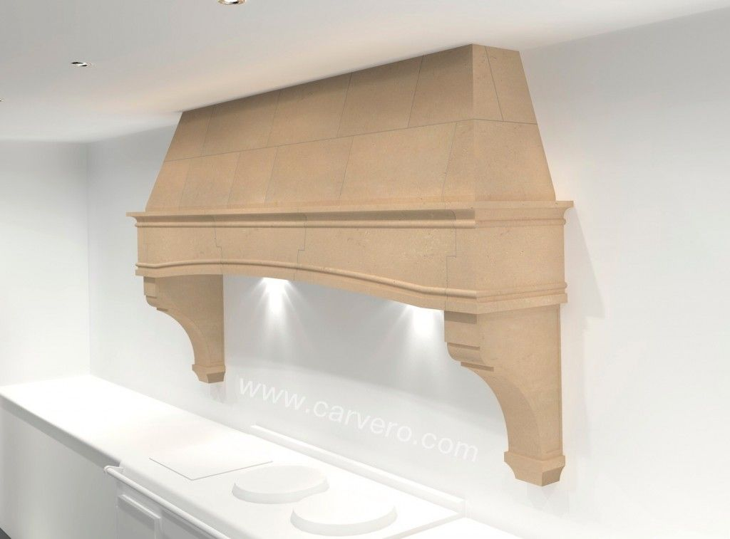 French Style - Traditional Kitchen AGA Stone Range Hood Kitchen Stone Canopy#Designer & French Style - Traditional Kitchen AGA Stone Range Hood Kitchen ...