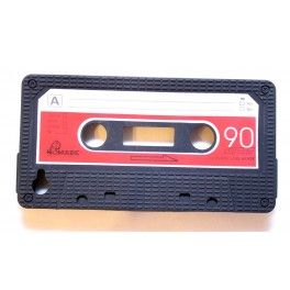 iPhone 4 musta C-kasetti suojakuori.