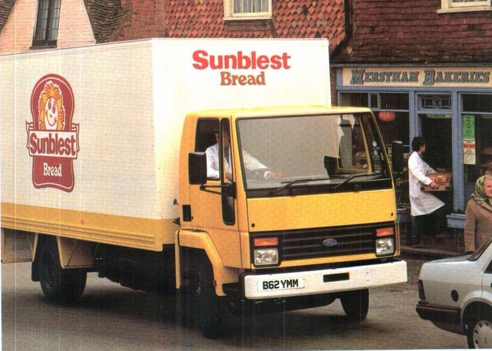 Sunblest Bread Lorry Classic Trucks Trucks Childhood Memories 70s