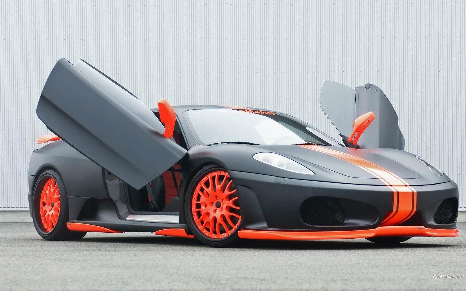 HD Car Wallpapers U Ferrari F Journals 1600x1000 Black Cars