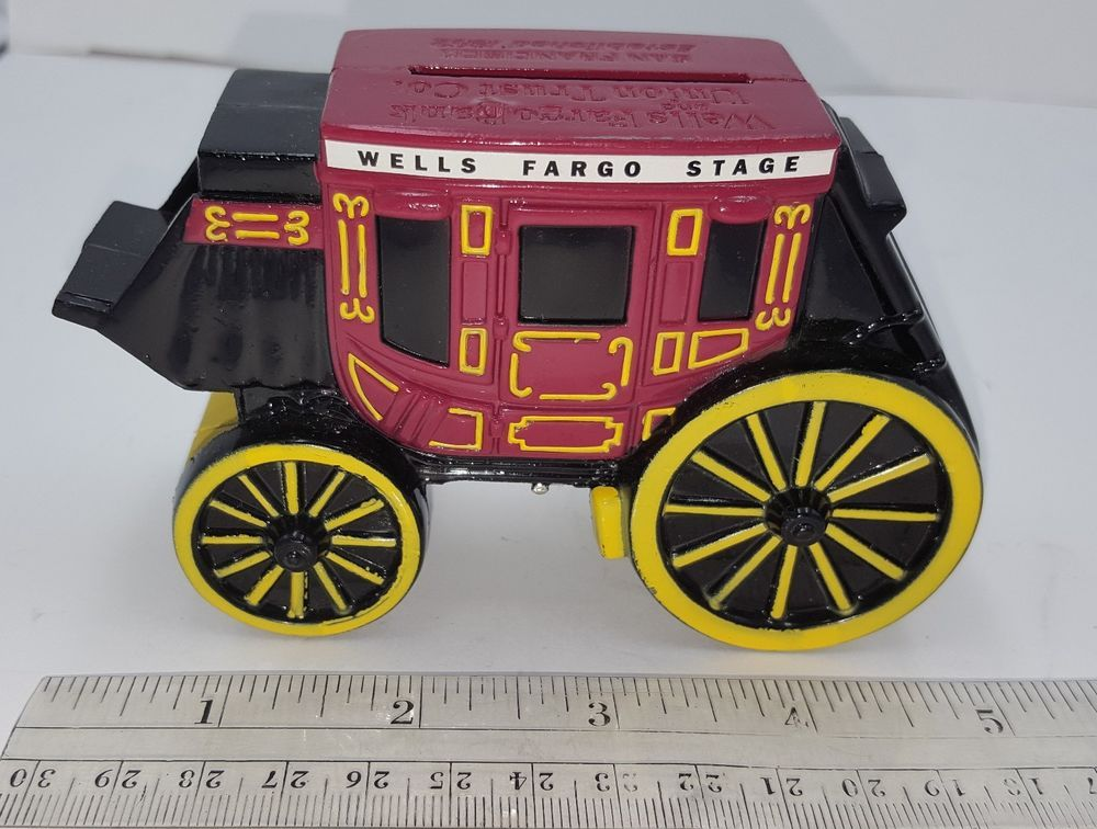 1998 Wells Fargo Bank & Union Trust Co  Stage Coach Metal