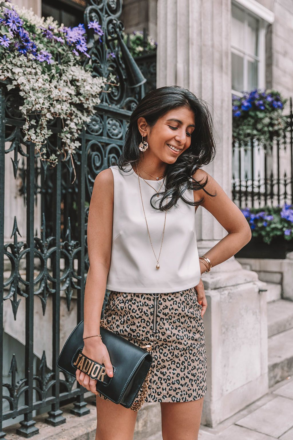 38f65d2db72ec5 Fashion blogger Shloka Narang of The Silk Sneaker shares why you need a leopard  print mini skirt in your wardrobe to create the perfect summer outfit ...