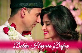 Dekha Hazaro Dafaa - Love Song | Cute statuses, Instagram ...