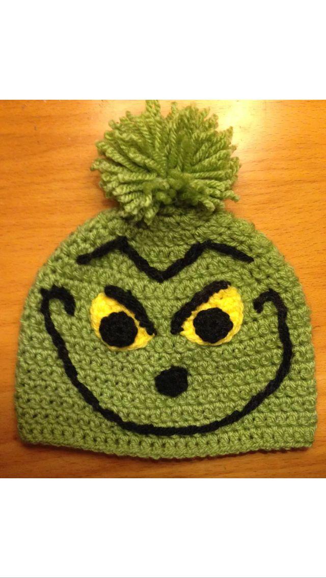 Crocheted Grinch Hat  7a3018cc14e