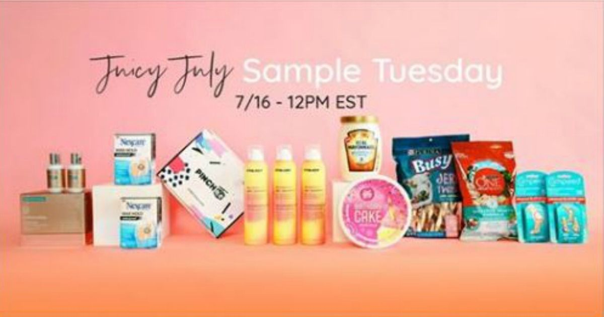GET READY! NEW PINCHme sample boxes are coming out Today 7
