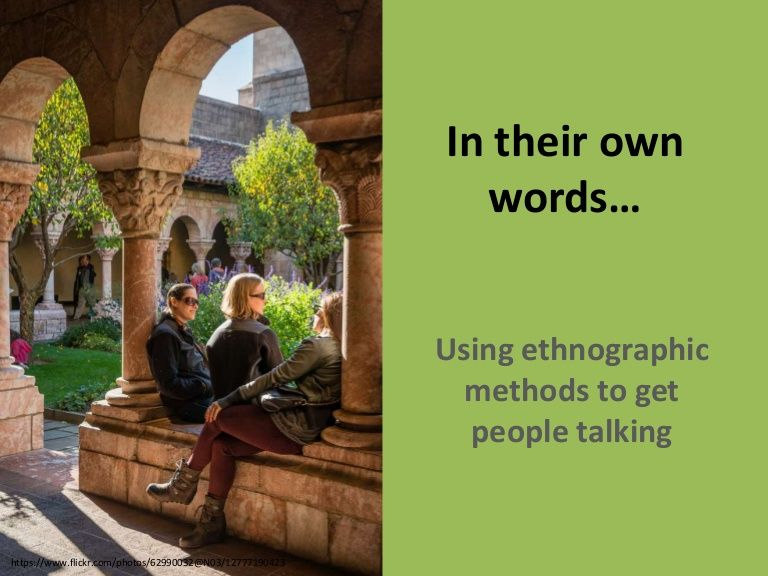 2 hour workshop on the topic of ethnographic methods for user experience (with an emphasis of use in library service provision research). Focus on methods used…